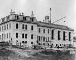 #bcpenitentiary BC Penitentiary New Westminster. 220px-BCPenitentiaryConstruction1877