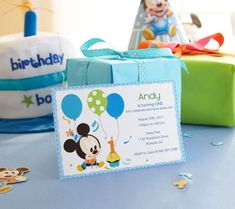 Mickey Mouse Printable Party Invitations
