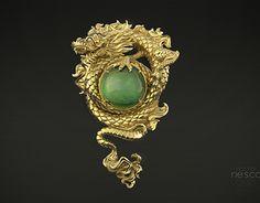 Dragon & Jade Pendant by Nacho Riesco Gostanza on ArtStation. Organic Sculpture, Chinese Mythology, Dragon Jewelry, Chinese Dragon, Pendant Design, Jade Pendant, Zbrush, Sculpting, Sculptures
