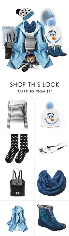 """""""Bez naslova #378"""" by vannesad ❤ liked on Polyvore featuring MaxMara, Disney, Hansel from Basel, Bose, Milly and Columbia Sportswear"""