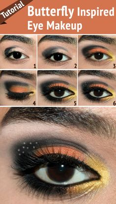Butterfly Inspired Eye Makeup – Tutorial With Detailed Steps And Pictures