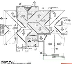 attachment.php 678×610 pixels Hip Roof Design, Roof Truss Design, Roof Structure, Building Structure, Family House Plans, New House Plans, Stair Plan, Bungalow Floor Plans, Framing Construction