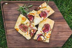 Fig and Cheese Focaccia