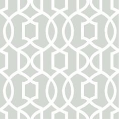 Grey and white is a sophisticated nursery decor palette. This chic baby wallpaper features a contemporary geometric design, like an elegant trellis for walls. Add a touch of luxury and style to the room with this peel and stick temporary wallpaper. Nu Wallpaper, Trellis Wallpaper, Temporary Wallpaper, Wallpaper Samples, Geometric Wallpaper, Self Adhesive Wallpaper, Peel And Stick Wallpaper, Luxury Wallpaper, Custom Wallpaper