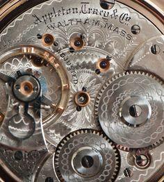 Antique American Waltham Watch Model 1892 by QuarterPastVintage
