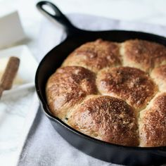 These Brioche Rolls are simple to make, the addition of Truffle and Black Pepper sets them over the edge!