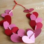 Just found my Valentine craft.  Looks simple enough for toddler fingers if I adapt it a little and use bigger straws and yarn...