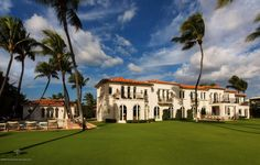 Kennedy Winter White House In Palm Beach, Florida.  The house has been in the family for 63 years.  It is now for sale.