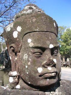Angkor Wat Statue, Angkor, Cambodia