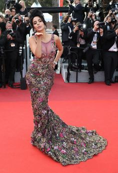 "Mallika Sherawat Photos - Mallika Sherawat attends the ""The Beguiled"" screening during the annual Cannes Film Festival at Palais des Festivals on May 2017 in Cannes, France. - 'The Beguiled' Red Carpet Arrivals - The Annual Cannes Film Festival Bollywood Celebrity News, Bollywood Celebrities, Celebrity Red Carpet, Celebrity Style, Palais Des Festivals, Tulle Gown, Cannes Film Festival, Couture Collection, Red Carpet Fashion"