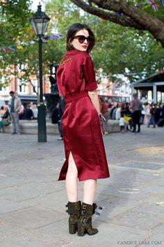 Leila Yavari in Jil Sander + Celine Street Style 2014, Street Style Summer, Street Chic, Star Fashion, Fashion News, Fashion Models, Girl Fashion, Leila Yavari, Fashion Pictures