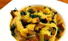 Rezept vom Zentrum der Gesundheit: Weisskohl-Eintopf mit geräuchertem Tofu © ZDG #vegan #rezept #gesundheit