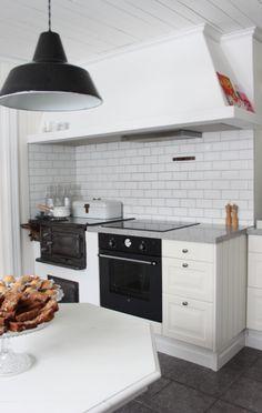 Köket med vårens pasteller- Lantligt på Svanängen