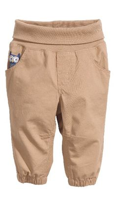 H&M HOME, helposti puettavat housut, vaalea beige