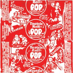 Tootsie Pop (cherry) by Lim, Todd