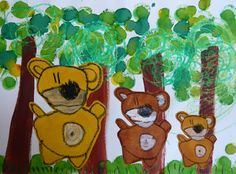 Diy For Kids, Crafts For Kids, Arts And Crafts, Kindergarten Activities, Book Activities, Ernest Et Celestine, Canada Day Crafts, Goldilocks And The Three Bears, 3 Bears