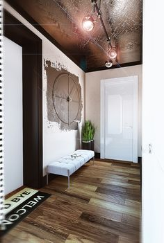 Этот интересный и очень красивый проект для заказчика-холостяка дизайнер Юлия Хохлова назвала Freedom loft.