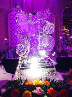 Wedding Ice luge #iceluge