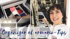 👗Cómo organizar el vestidor - Tips - YouTube