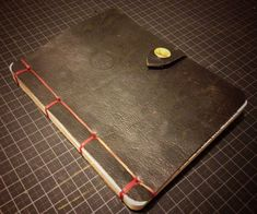 Leather Covers - Customize Your Sketchbook