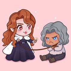Chibi Hector and Lenore, by Luna Sol - castlevania Castlevania Games, Alucard Castlevania, Castlevania Netflix, Castlevania Wallpaper, Fanart, Scott Pilgrim, Cool Sketches, Anime Manga, Anime Art
