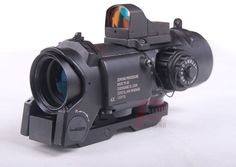 New 4x fixed dual purpose scope with mini red dot scope red dot sight for rifle…