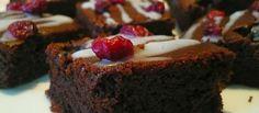 Brownies con glassa di zucchero