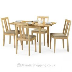 Our charming Rufford Dining Set is a casual design which can be dressed up with a few elegant touches.