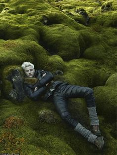 Lucky Smith by Annie Leibovitz in Iceland's Landscapes ~ETS #annieleibovitz…