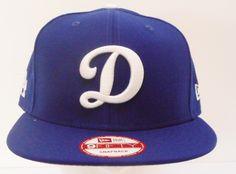 """Los Angeles Dodgers New Era """"D"""" Royal Blue Snapback 950 - allaccesssports365.com"""
