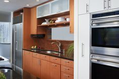 Small but stylish urban kitchen design. From 1 of 5 projects by Inspired Interiors, discovered on search.porch.com