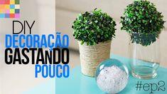 Como decorar gastando pouco - Mesa Básica DIY