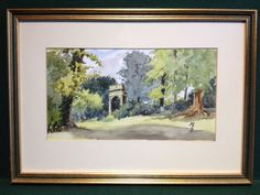 Original Watercolour - Painting Signed MEJ - Framed & Ready To Hang - 18  x 13