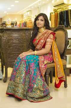 #Beautiful #Bollywood #Style #Indian #wedding #bride #marriage #shadi #india #red #love #lehengha