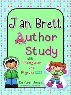 Jan Brett Author Study for K-2! Lots of materials and activities. $