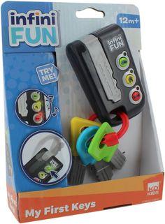 Kjøp Infinifun Mine Første Nøkler | Jollyroom Baby Jogger, Lego, Concept, Mini, Racing Baby, Legos