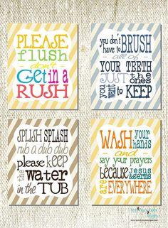 Bathroom Signs Wash Your Hands this free printable makes the cutest fun bathroom sign (wash your