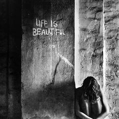 Even in the darkest depths of pain there is true beauty in the journey through life.
