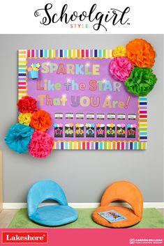 Schoolgirl Style decor brings beautiful, inspiring classrooms to life! This bright, colorful line of borders, nameplates, labels and so much more is now available in stores!