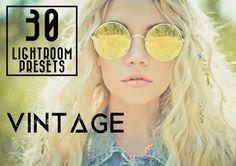 30 Vintage Lightroom Presets by LOU&MARKS on @creativemarket