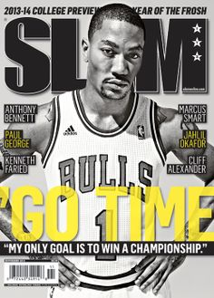 SLAM 172: Chicago Bull Derrick Rose appeared on the cover of the 172nd issue of SLAM Magazine (2013).