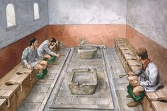 World Toilet Day: The Extraordinary History Of The Toilet – PolyTrendy Fine Art Prints, Framed Prints, Canvas Prints, Framed Wall, Groom Of The Stool, World Toilet Day, Roman Britain, Photo Library, Poster Size Prints