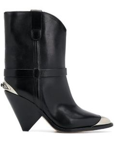 New In this week for Women 2019 - Farfetch Black Heel Boots, Heeled Boots, Fendi Purses, Isabel Marant, Black Leather, Booty, Heels, Stuff To Buy, Shopping