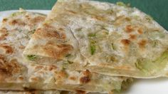 These savory green onion pancakes make a great accompaniment to grilled meat or chicken.