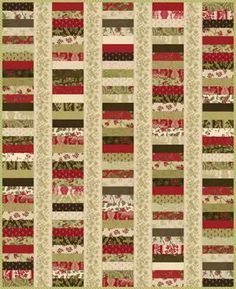 Free Jelly Roll Quilt Patterns | Qubee Quilts: Machine Fridays - Stacked Coins