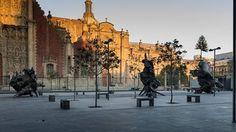 #JavierMarín #CORPUSTERRA en Plaza Seminario, #cdmx.  Octubre 2015 - Marzo 2016.