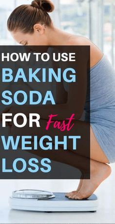 How To Use Baking Soda For Fast Weight Loss - Natural Home Remedies