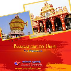 """The journey home to God is what life is about. Make a journey to the famous """"Krishna Matha"""" temple of Udupi from Bangalore via Mangalore and get flat 5% off on all bus tickets. http://www.anandbus.com/e-bookings/16/Bangalore/208/Udupi/ ✔2+1 Sleeper Coach ✔Daily 3 services #Bangalore #Mangalore #Udupi #KrishnaMatha"""