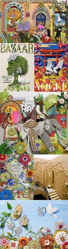 paper illustrations by Jo Lynn Alcorn
