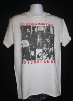 the jesus and mary chain t-shirt 80s 90s retro rock indie